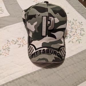 BRAND NEW...Pittsburgh camo hat